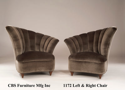 1172 LEFT & RIGHT CHAIR
