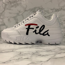 Load image into Gallery viewer, FILA DISRUPTOR II SCRIPT 5FM00403-125