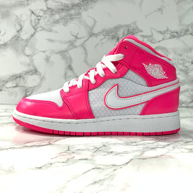 AIR JORDAN 1 MID GS 555112-611