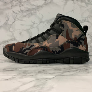 AIR JORDAN 10 RETRO WOODLAND CAMO 310805-201