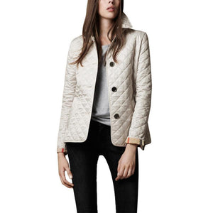 Lapel Long Sleeve Button Fashion Jackets