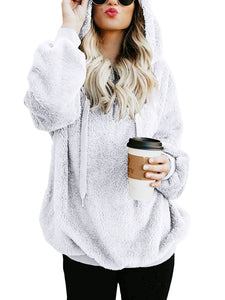 Long Sleeve Pocket Pullover Hoodies Sweatshirts