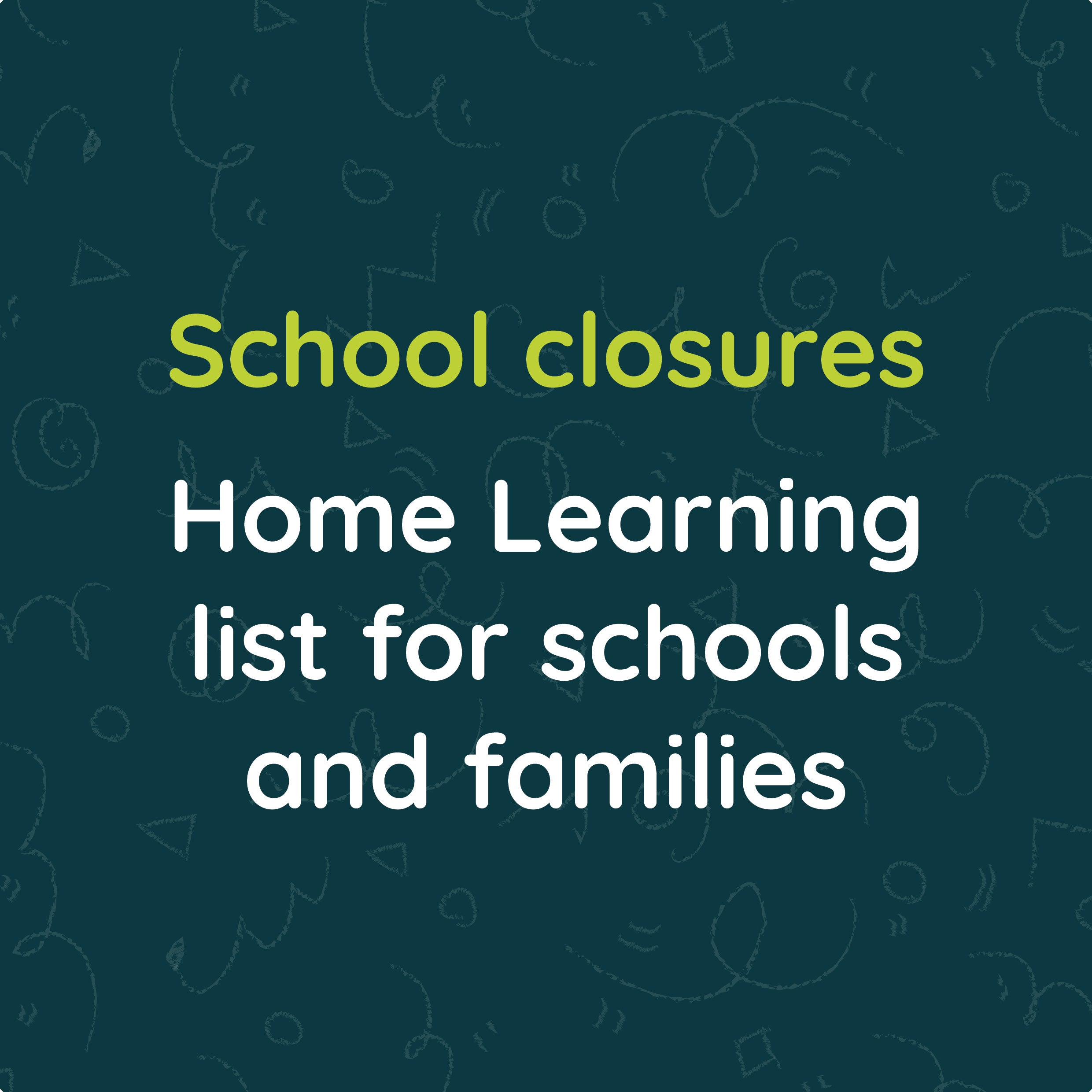 Home Learning Resources List For Schools And Families Chatterpack
