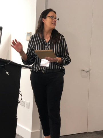 Image of Claire Ryan delivering ADHD training