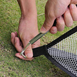 Golf Cage Practice Net Garden Backyard Outdoor Training - PORTABLE GOLF PRACTICE NET