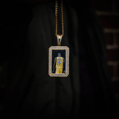 THE D-OG // DOG TAG PHOTO PENDANT is an essential piece to add to your collection to remember an OG in your life...5x Plated with Solid 18k Gold x Diamonds, this custom photo pendant has a breathtaking luster for a price that you simply can't find anywhere else. Stop Settling and Shop OG.