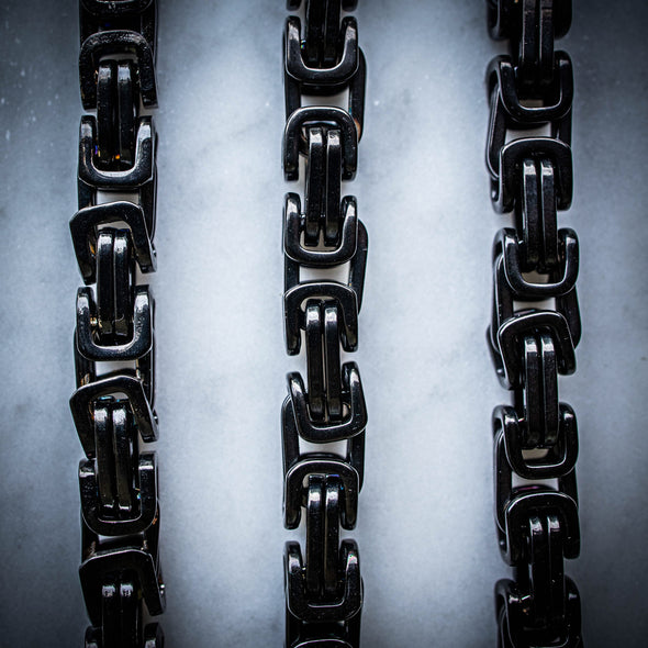 BRYZZY CHAIN // BLACK 8MM