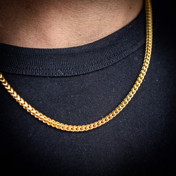 3MM FRANCO CHAIN IN GOLD