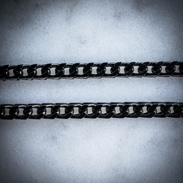 3MM BLACK FRANCO CHAIN