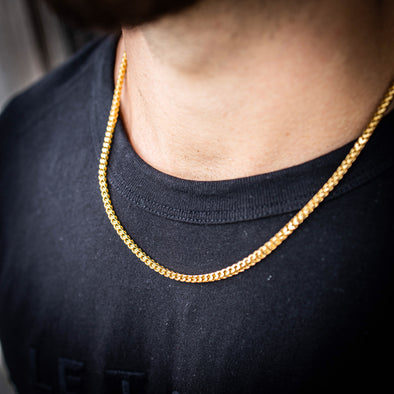 THE FRANCO // YELLOW GOLD 3MM
