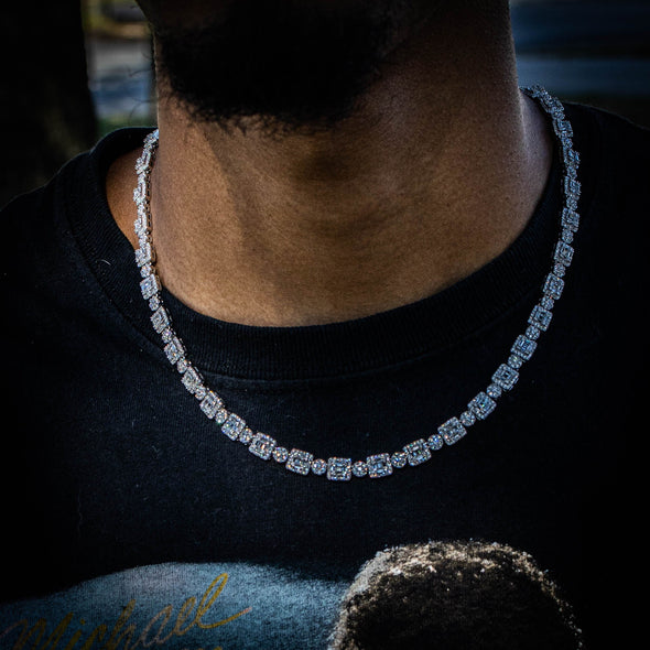 OG 7MM ICON CHAIN IN WHITE GOLD