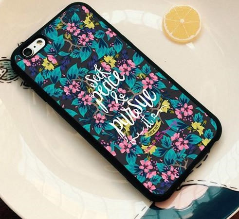 Seek Peace and Pursue It - Christian Phone Case