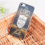 The Lord Is My Strength - Christian Phone Case