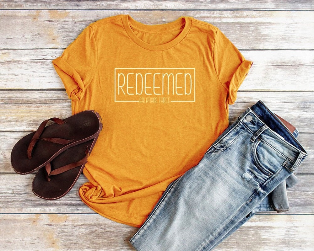 'Redeemed' Christian T-Shirt