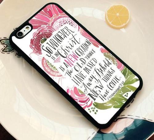 Whoever Is In Christ Is a New Creation - Christian Phone Case