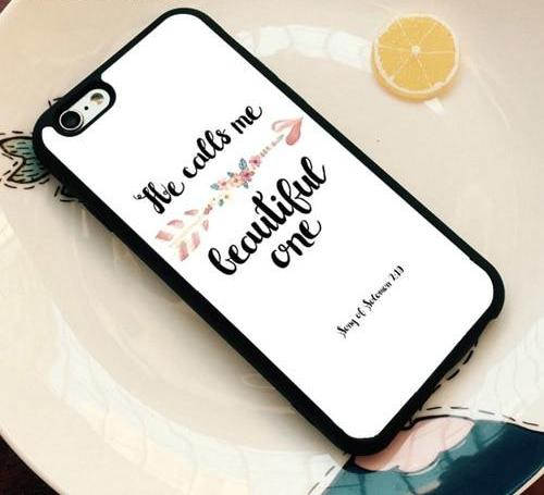 He Calls Me Beautiful - Christian Phone Case