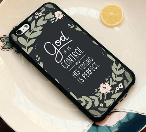God Is In Control - Christian Phone Case