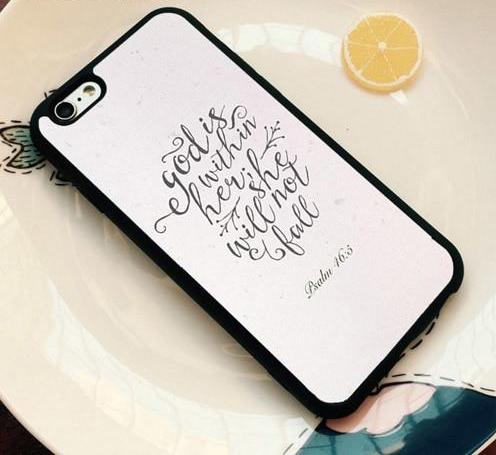 God Is Within Her - Christian Phone Case