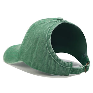Large Hole Ponytail Baseball Cap