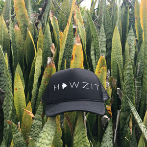 Howzit Big Island Trucker Hat