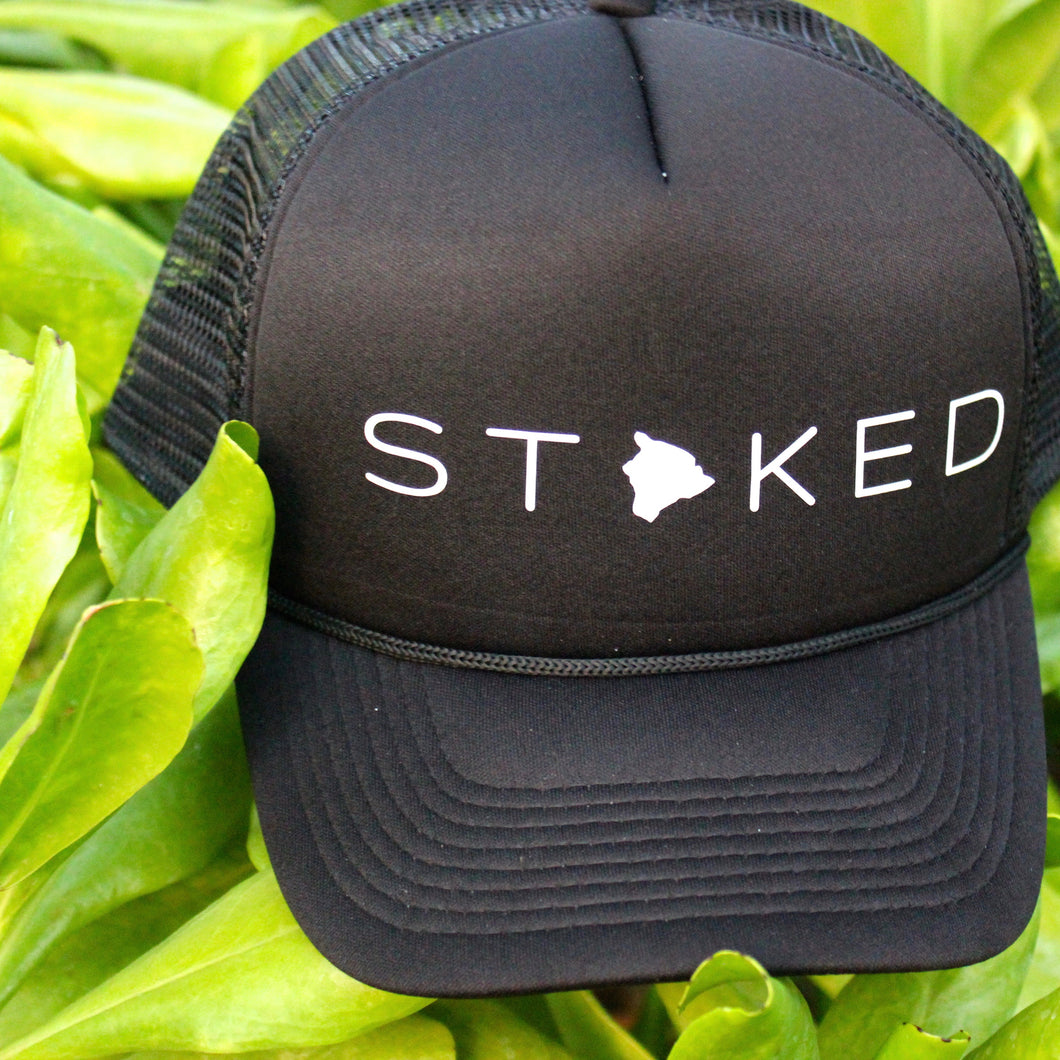 Stoked Big Island Trucker Hat