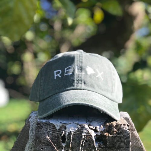 Special Edition - Relax Big Island Dad Hat - Olive