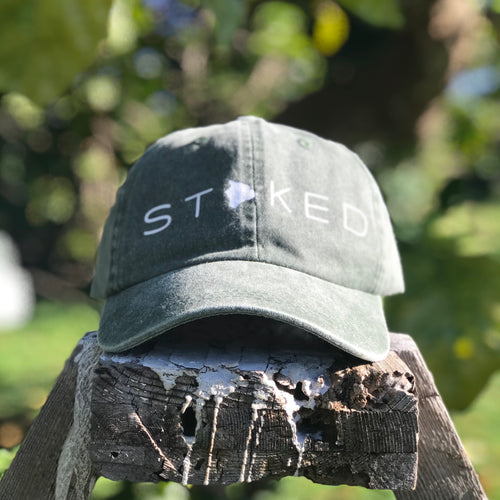 Special Edition - Stoked Big Island Dad Hat - Olive