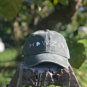 Special Edition - Howzit Big Island Dad Hat - Olive