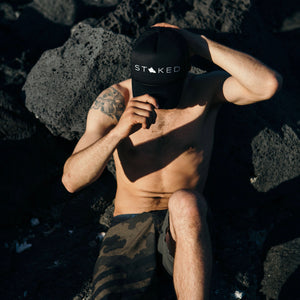Stoked Oahu Trucker Hat