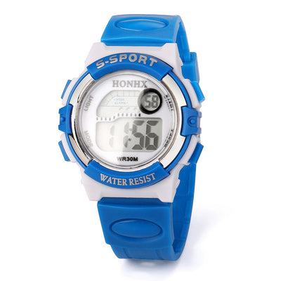 Multifunction Sports Electronic Sport Digital Wrist Watch For Child Girl Boy