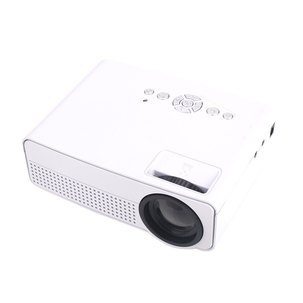 Mini Projector Multimedia System Portable Theater Office Video Projector H60 HDMI TV Laptop