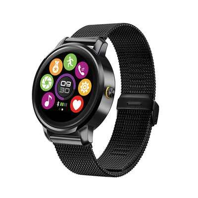 Sports Bluetooth MTK2502C 1.22inch IPS Heart Rate Monitoring Smart Watch