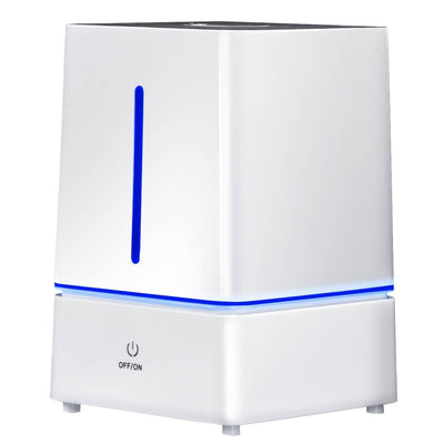 4 L Ultrasonic Cool Mist Air Humidifier w/ LED Night Light