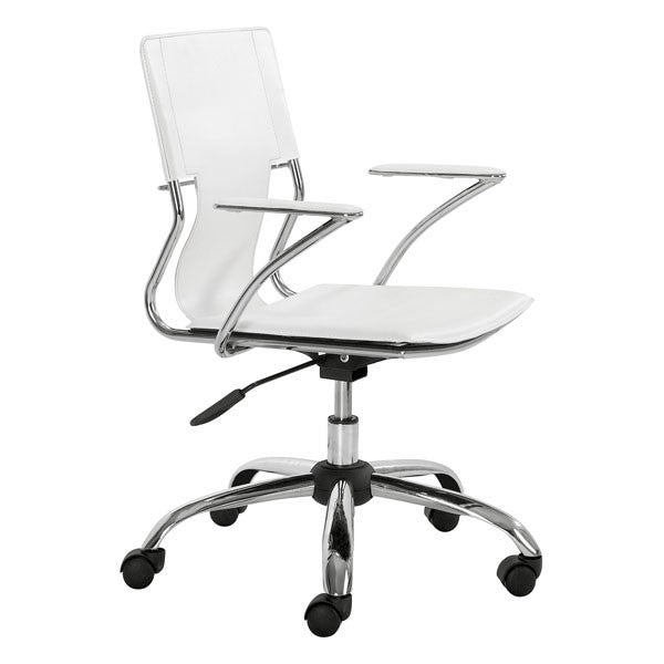 Zuo Trafico Office Chair White