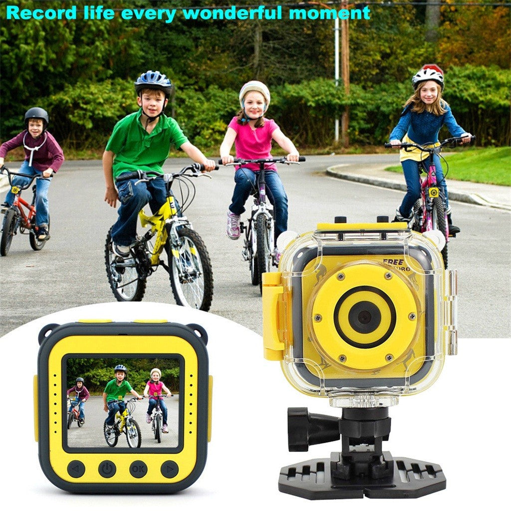 Children Kids Camera Waterproof Digital Video HD Action Sports Camera Gift Toy