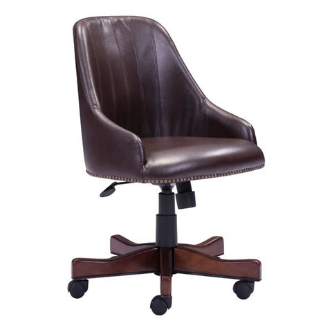 Zuo Maximus Office Chair Brown