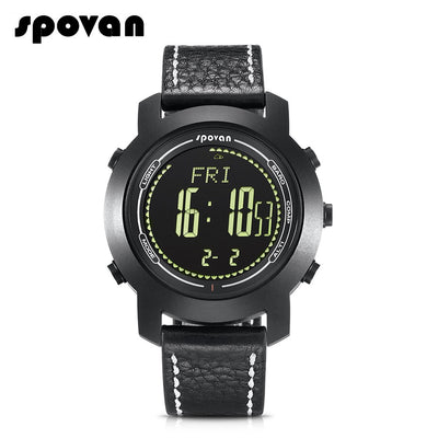SPOVAN Sports Casual Men Smart Watch Intelligent Male Watches Water Resistant Sports Tracker Smart Bracelet
