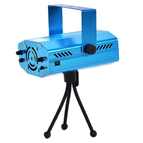 4 In 1 Mini Stage Lighting  LED Laser Projector