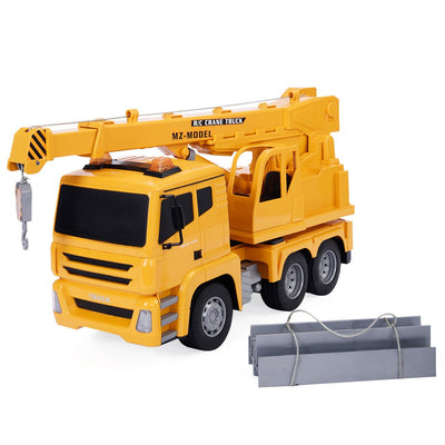 1/18 5CH Remote Control RC Crane Heavy Construction Lifting Truck