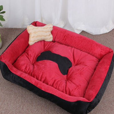 Pet Dog Bed Soft Material Pet Dog Fall and Winter Warm Nest Kennel For Cat Warming Dog House Puppy Plus size
