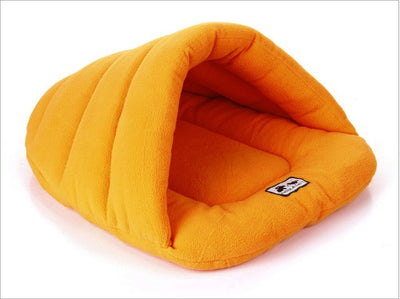 Warm dog beds for Small Dogs Summer Soft Sleeping Bag Puppy Cave Bed Solid Dog Kennel Cushion for Drop shipping