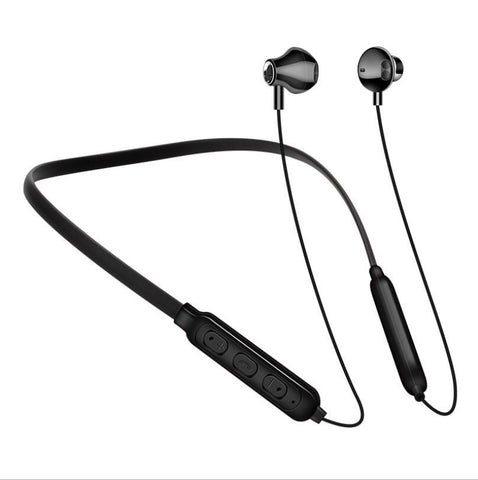 Sports Bluetooth Headset Neck Hanging Double Ear Hanging Sports Headphones