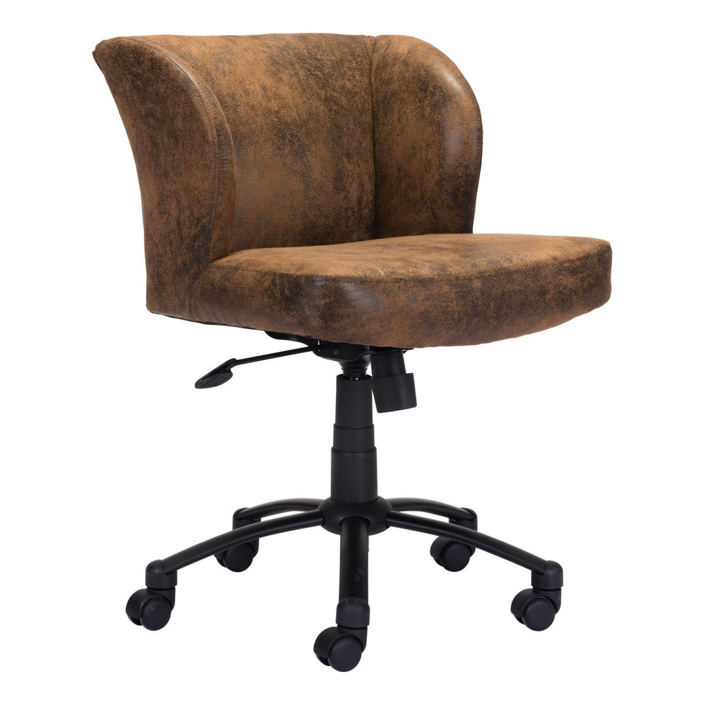 Zuo Shaw Office Chair Brown