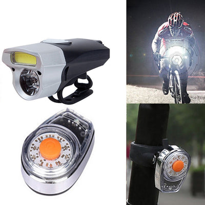 USB Rechargeable LED Bike Bicycle Cycling Front Light Headlihgt Lamp Torch