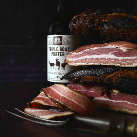 Brickhill Black Streaky Bacon (200g packs)
