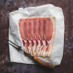 Unsmoked back bacon (200g packs)