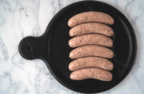 Special pork sausages