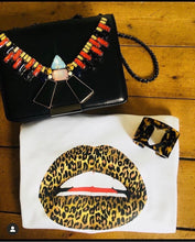 Load image into Gallery viewer, Leopard Lips Tee Shirt