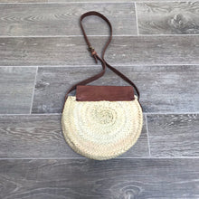 Load image into Gallery viewer, Round Palm Moroccan Handbag