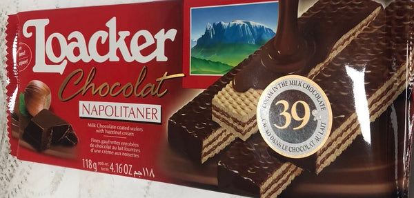 LOACKER CHOCOLATE NAPOLITANER